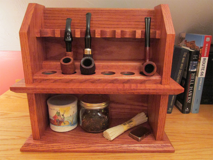 Craftsman Cottage Tobacco Pipe Rack Plans