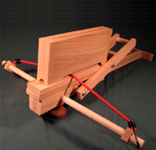 Ancient chinese lever action crossbow