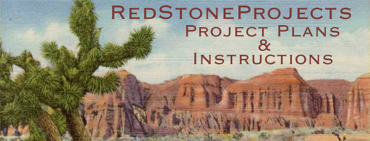 RedStoneProjects.com - Project Plans and Instructions