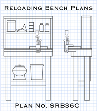How to build a concealable reloading bench from plans
