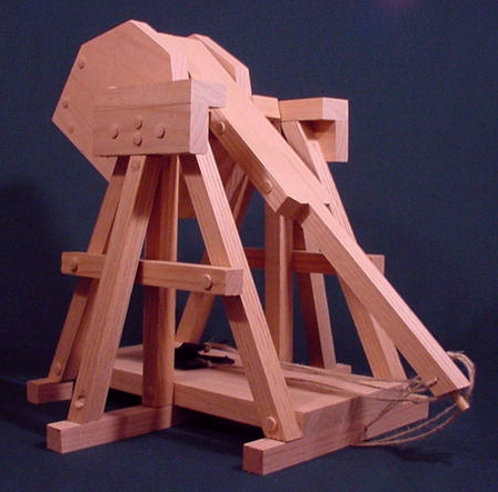 Da Vinci Trebuchet Step By Step Easy To Build Plans And Instructions Mobile View